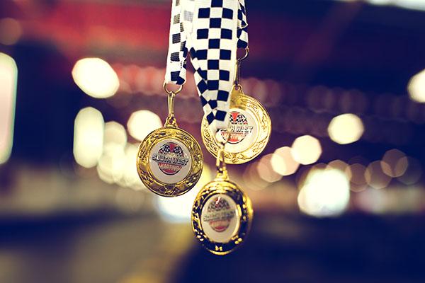 medals-cadets south west karting cheddar
