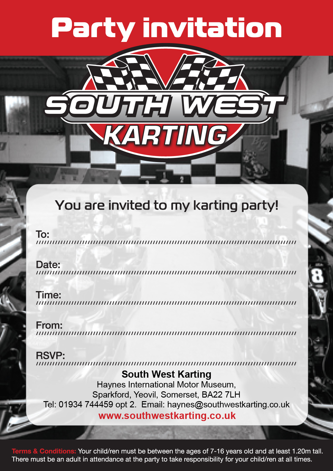 PARTIES | SouthWestKarting