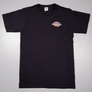 SWK V-Neck T-Shirt black