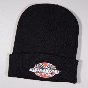 SWK Beenie Hat Black